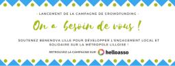 Benenova Lille lance sa campagne de crowdfunding !