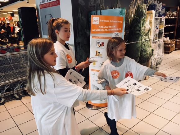 collect alimentaire PAF Benenova
